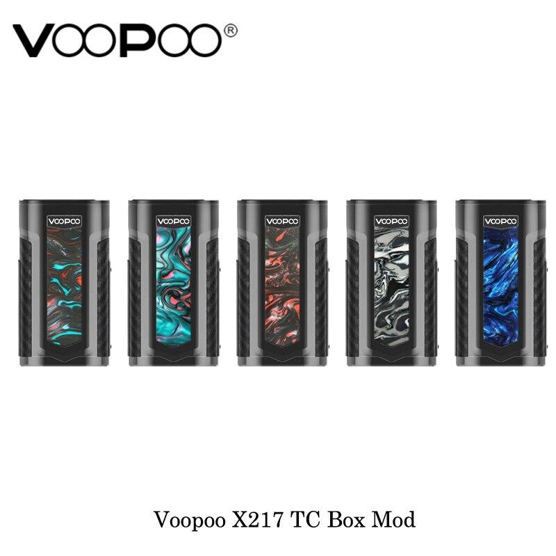 Cigarettes électroniques VOOPOO X217 TC Box Mod 217 W gène. FIT puce TFT écran alimenté par 21700/20700/18650 batterie Vape vaporisateur