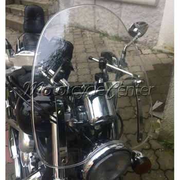 Clear Windscreen Windshield For 1969-2018 Suzuki Boulevard C50 C90 M50 M90 S40 S50 S83 Intruder 1400 1500 700 800 Marauder GZ250