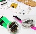 DIY LEVOU Kit Relógio Digital Relógio Eletrônico Com Tampa Transparente