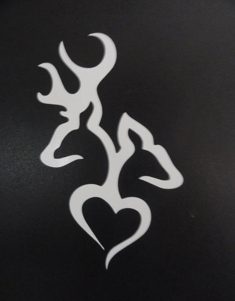 Browning heart deer doe buck hunting for truck window sticker browning heart deer doe buck hunting for truck window sticker vinyl decal in car stickers from automobiles motorcycles on aliexpress alibaba group biocorpaavc