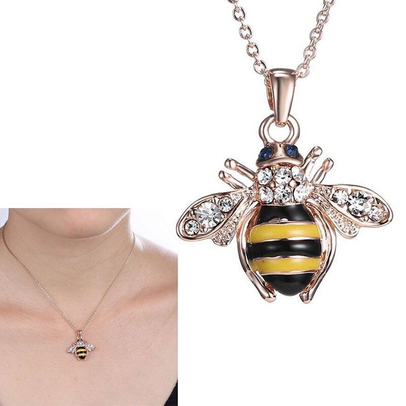40 Cm Bohrer Biene Halskette Origami Gold Bee Kette Halskette Honey