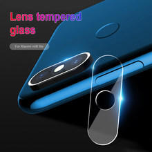 3Pcs Clear Camera Tempered Glass for Xiaomi Redmi Note 7 6 Pro 5 Plus Camera Lens Film for Redmi 7 Go 6A Back Screen Protector(China)