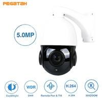 New 5MP 30X MINI PTZ Dome Camera 30X Middel Speed AHD Camera 50M IR Outdoor CCTV Camera Support RS485 UTC function