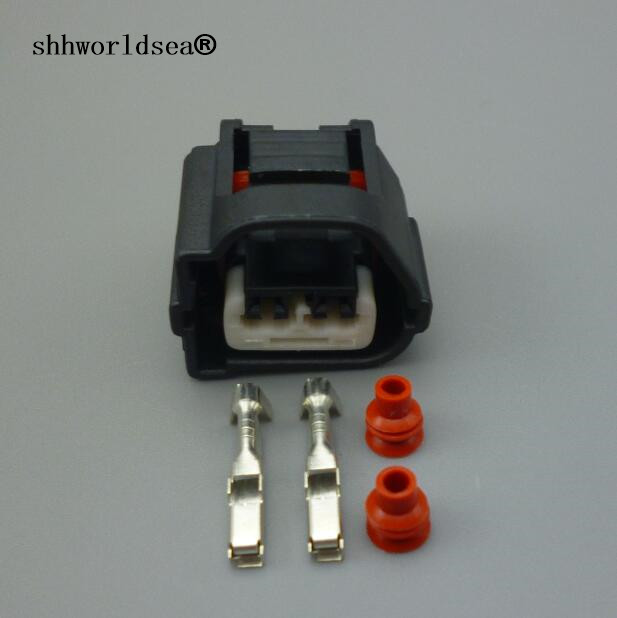 shhworldsea Crank Cam Position Angle Sensor Connector 2 Pin Female Auto Plug 90980-10899 7283-7020-10 For Toyota Celica Camry Le