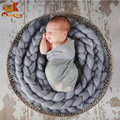 Monkids 2017 Featured Cotton Stretch Wrap Newborn Photography Baby Receiving Blankets Newborn Wraps Photography 9 Color