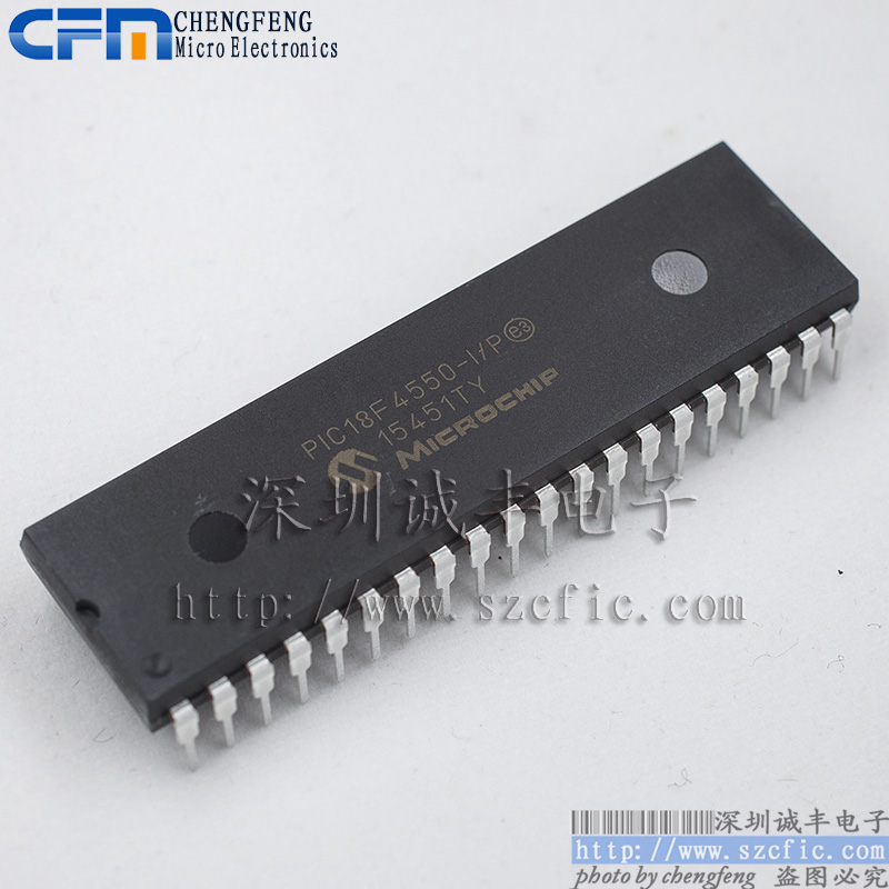 Module  PIC18F4550-I/P 18F4550  Original authentic and new Free Shipping sca103t d04 sca103t smd12 original authentic and new in stock free shipping 2pcs