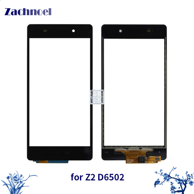 10pcs/lot 5.2'' Touch for Sony Xperia Z2 L50w D6502 D6503 D6543 Touch Screen Digitizer Sensor Lens Front Glass Panel Parts