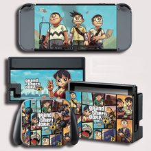 Vinyl Cover Decal Skin Sticker for Doraemon skins Stickers For Nintend Switch For NS Gaming Console + Controller Decal Cover Sti