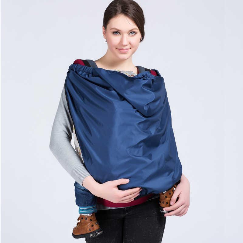 Dziecko wiatroszczelne, przeciwdeszczowe na nosidełko dla dziecka na zewnątrz