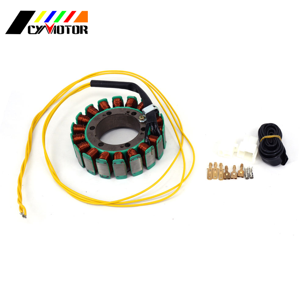 Motorcycle Magneto Generator Alternator Engine Stator Charging Coil Parts For HONDA XRV VF VFR XLV 600 700 750 1000 Africa 31hp high pressure pack ignition coil briggs and stratton 543477 engine generator parts