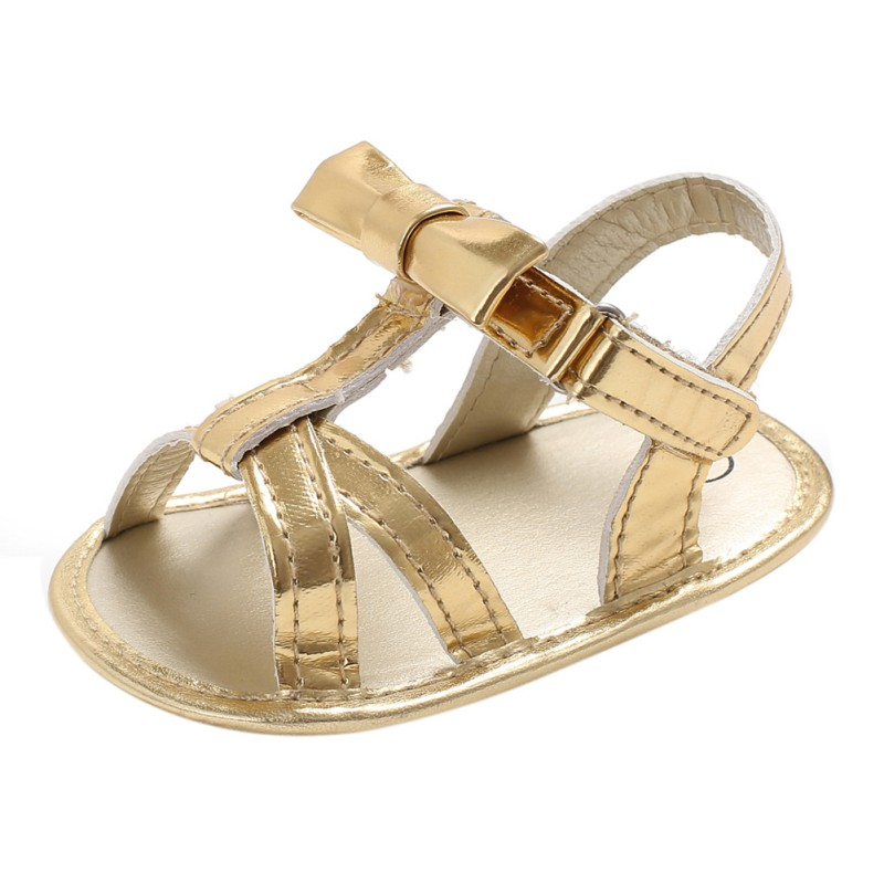 Baby Shoes Summer Girls Bow-knot Children Beach Shoes Baby Walking Shoes First Walkers 2018 New