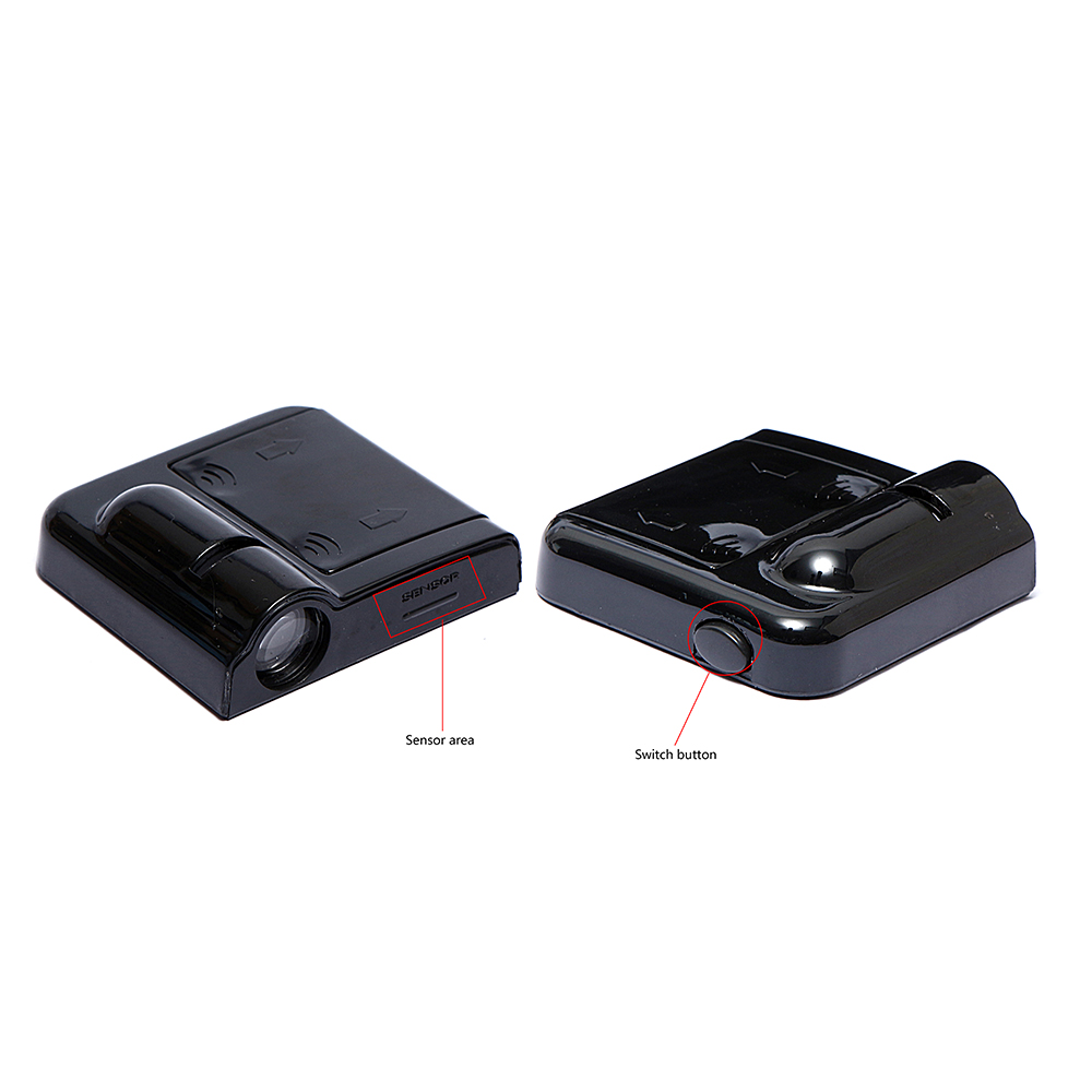 2PCS Wireless <font><b>Led</b></font> Car Door Welcome Laser Projector <font><b>Logo</b></font> Ghost Shadow Lights for Skoda <font><b>Renault</b></font> Suzuki Volvo Seat Fiat Peugeot Kia image