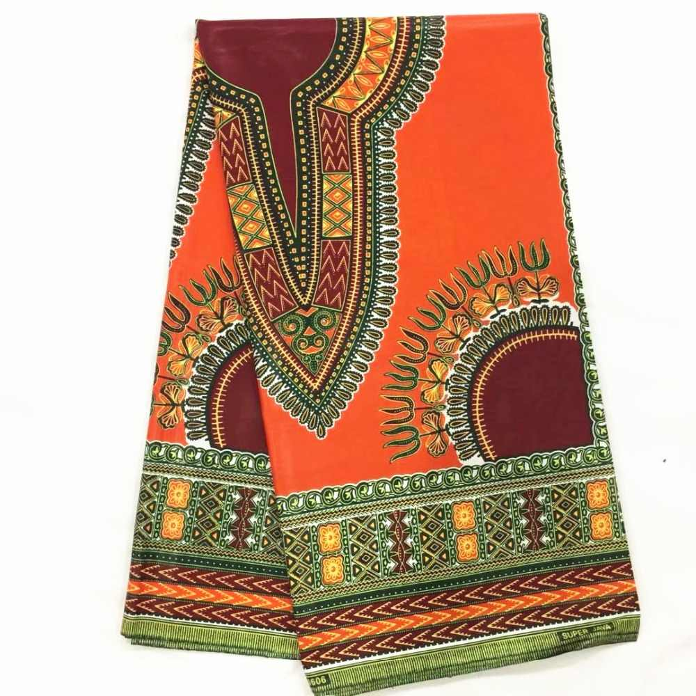 aa45ced49098c Detail Feedback Questions about Orange dashiki fabric ankara cheap wholesale  2018 african wax fabric pure bridal wedding dresses for women african fabric  ...