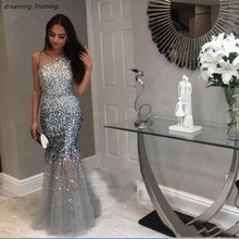 dreaming truing Luxury Long Prom Dresses With Evening Dress