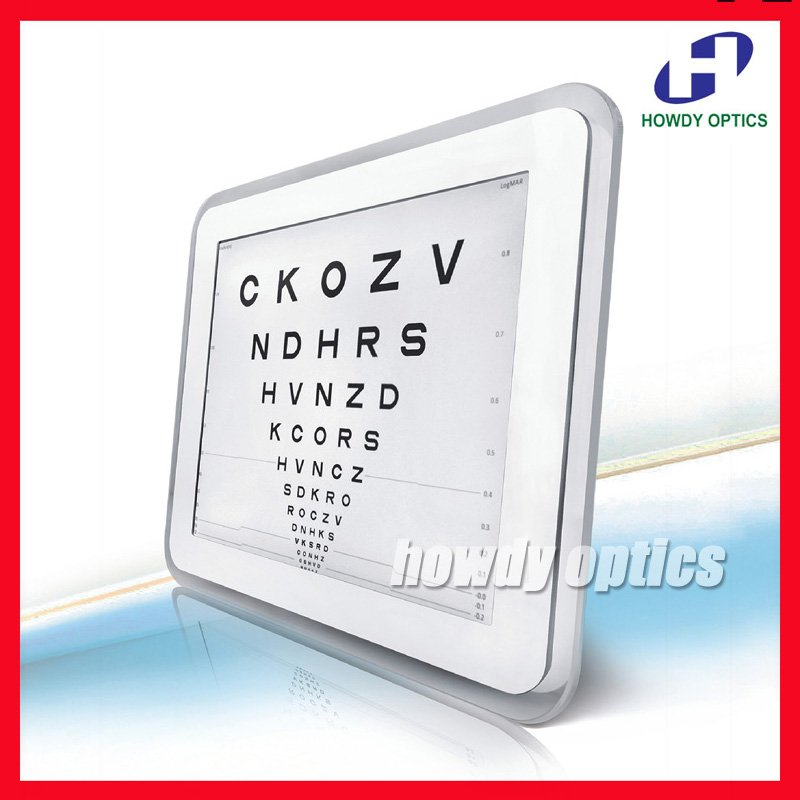 New! C 901 17'' top grade  LED Vision acuity chart CE approval-in Instrument Parts & Accessories from Tools    1