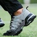2015 Primavera/Otoño Mens Zapatos Deportivos Transpirable Cozy Casual Hombres Zapatos Para Caminar Ultraligero Hombre Jogging Zapato/de Encaje Macho Zapatos Planos con cordones