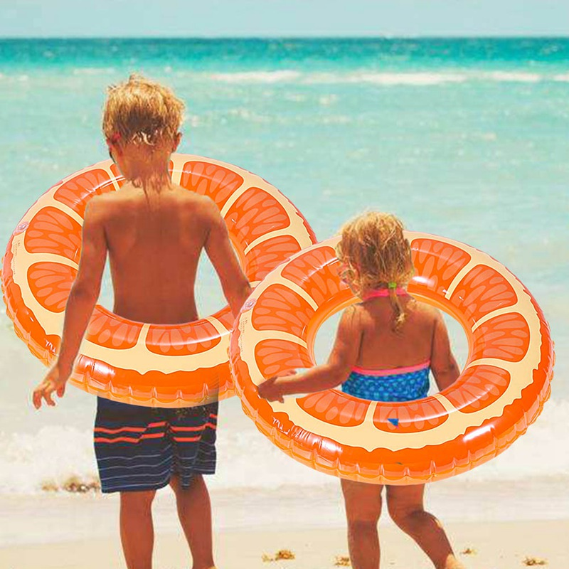 Children`s Pool Accessories For Swimming Inflatable Swim Ring For Children Hot Fruit Circles Summer Swim Pool Toys