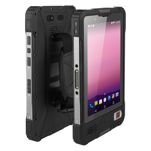 Image 4 - UNIWA V810 8 inç IPS 2in1 Tablet PC LTE Octa çekirdek Android 7.0 sağlam Tablet cep telefonu 2G 16GB cep telefonu IP67 su geçirmez NFC