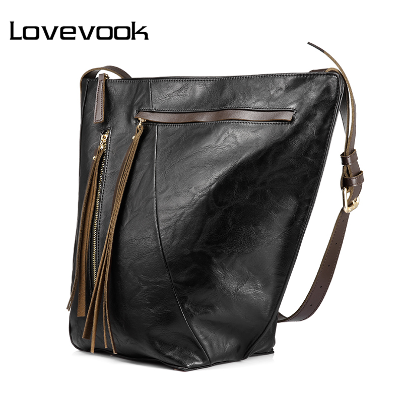 LOVEVOOK fashion women handbag female extra large capacity bucket bag with long tassel multi-pocket shoulder crossbody bag 2016 extra large 3d printer with 400x400x470mm building envelope