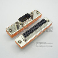 DB25 Male To DB9 Female Adapter D9 D25 Serial Port Adaptor 9Pin Female 25P Male Connector