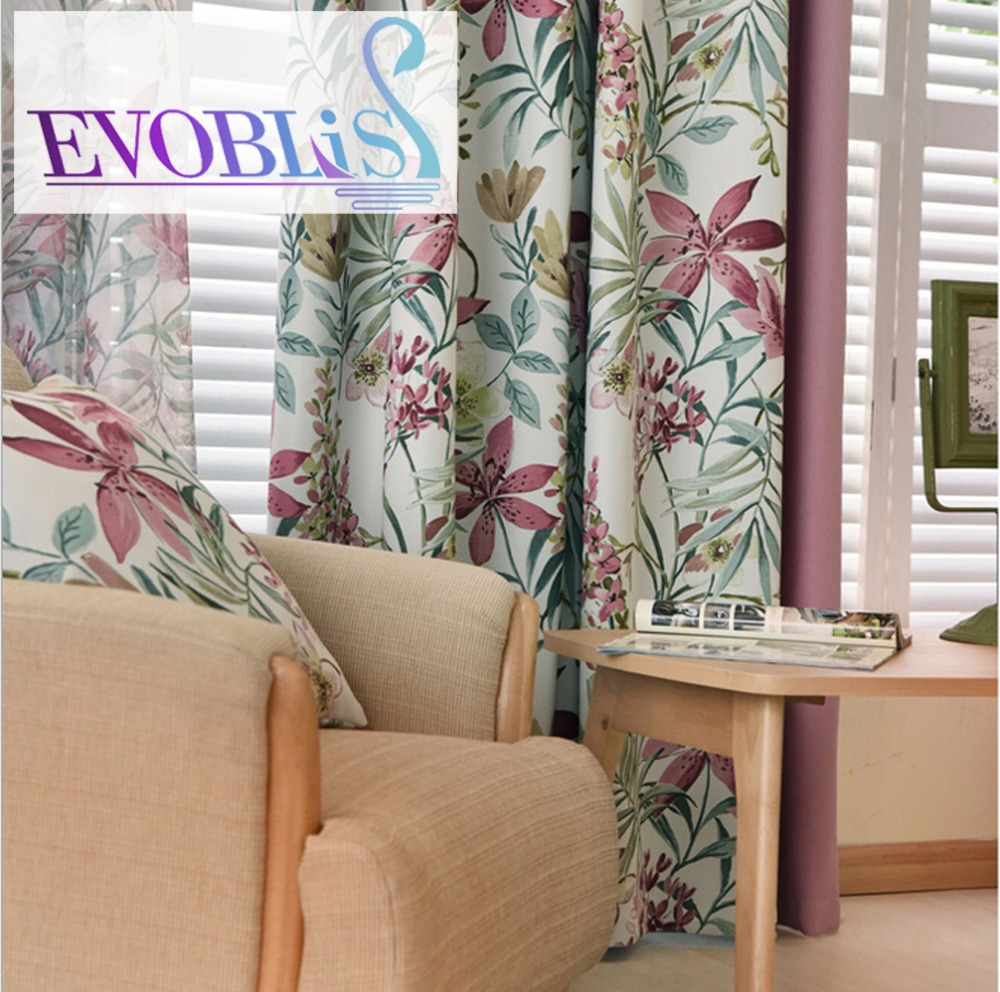 2016 new american blackout curtains for living room - Cortinas de sala ...