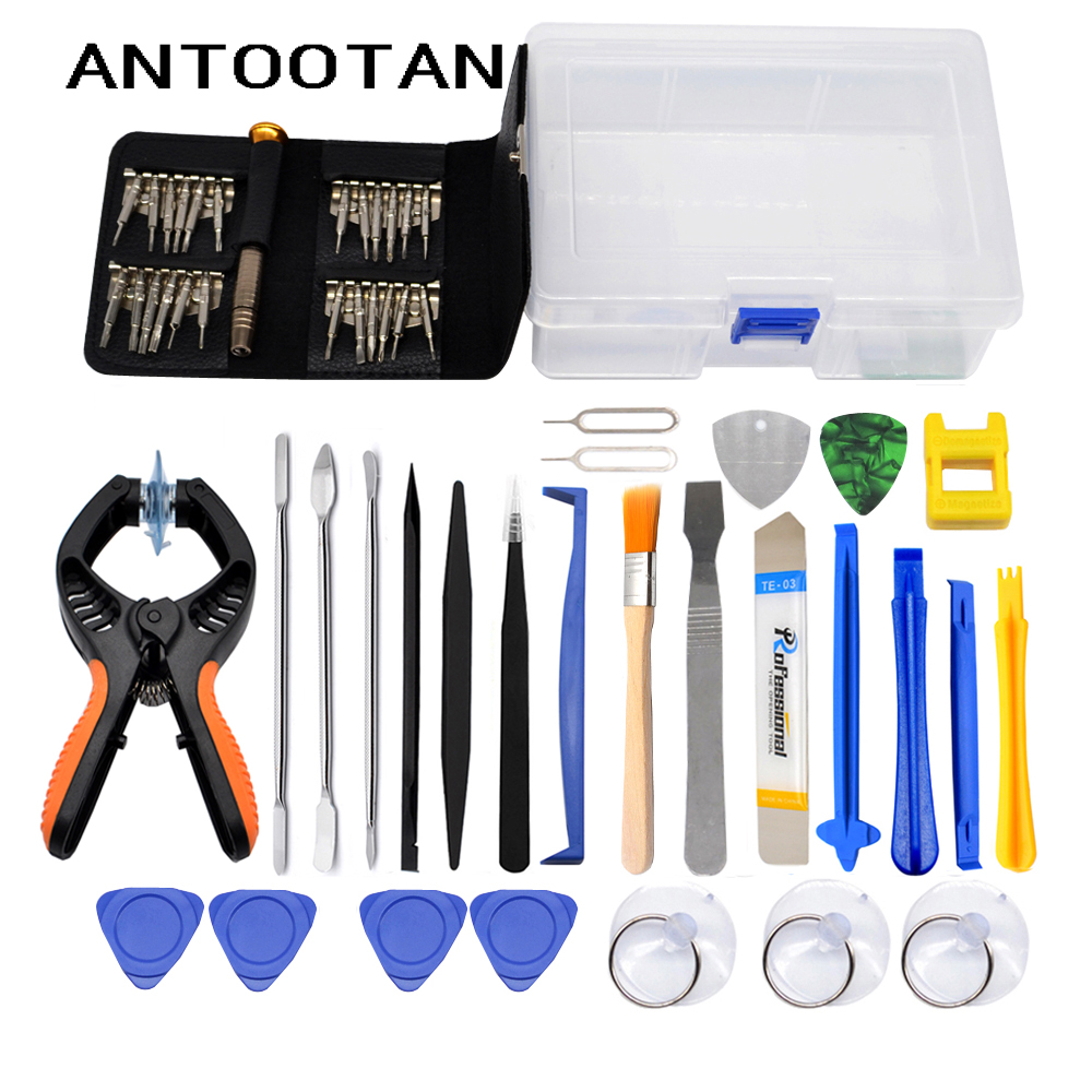 Mobile Phone Screen Opening Pliers Repair Tools Kit Screwdriver Pry Disassemble Tool Set For IPhone Samsung IPad
