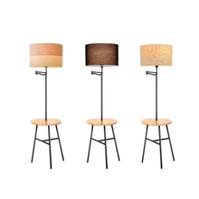 Nordic Living Room Wooden LED Floor Lights Placement Items Floor Lamp Interior Decoration Standing Lamp Lighting Standing Lights