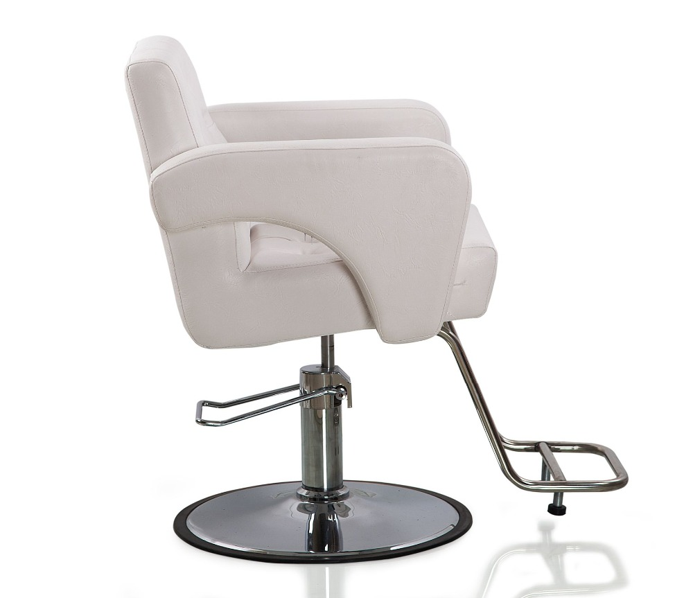 Hydraulic Styling Chair Us 259 99 White Hydraulic Styling Barber Chair Hair Spa Beauty Salon Equipment In Barber Chairs From Furniture On Aliexpress Alibaba Group