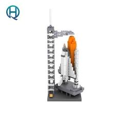Mini Nano Blocks Space Shuttle LOZ Building Blocks Action Figure Diamond Blocks Compatible Legoelieds 9384