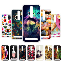 3D DIY Soft Silicone Case For Asus Zenfone 2 5.5 Case Coque For Asus Zenfone 2 Deluxe ZE551ML ZE550ML Covers Cases Shell Fundas стоимость