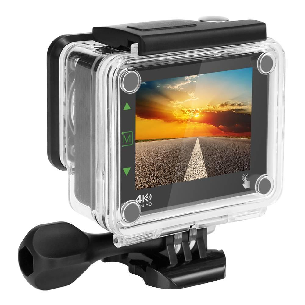 Vikcam VK-5 WIFI Action Camera NT96660 For Sony IMX078 2.31 Inch TFT LCD Screen 20MP 170 Degree Wide Angle Sports Camera gitup git1 1 5 inch lcd wifi rf control action camera