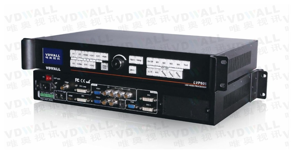 VDWALL LVP605S видео процессор для полноцветной RGB светодиодный дисплей Поддержка ts802 msd300 IT7 (lvp615 горячая распродажа)