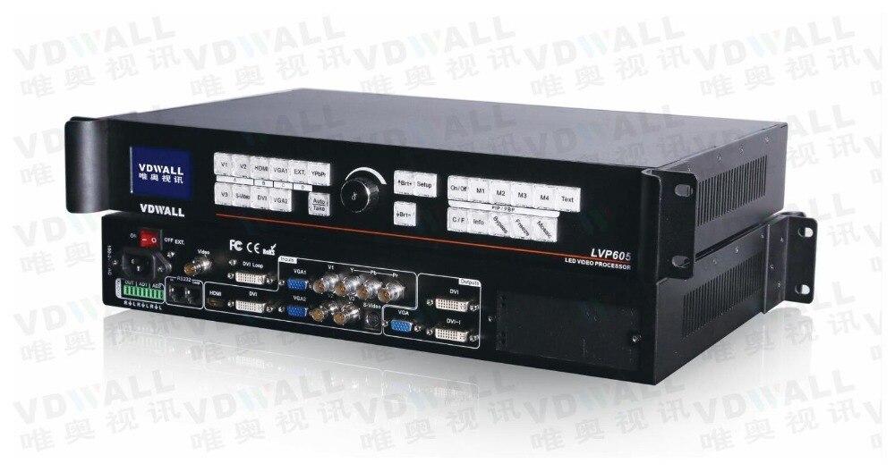 VDWALL LVP605S processore video per colore completo di RGB LED display supporto ts802 msd300 IT7 (lvp615 vendita calda)