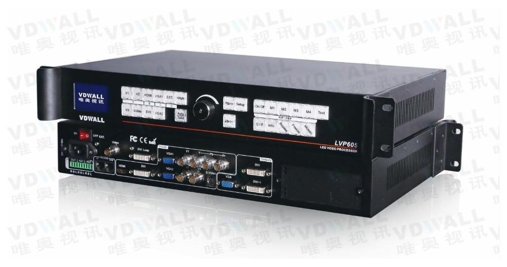 VDWALL LVP605S vidéo processeur pour pleine couleur RGB LED support d'affichage ts802 msd300 IT7 (lvp615 vente chaude)