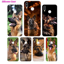Silicone Phone Case Shepherds Dog German for Huawei P Smart 2019 Plus P30 P20 P10 P9 P8 Lite Mate 20 10 Pro Lite Nova 3i Cover g whitefield chadwick while shepherds watched