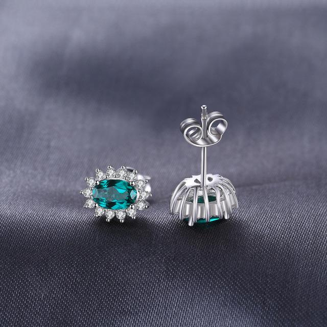 Kate Middleton's Emerled Stud Earrings