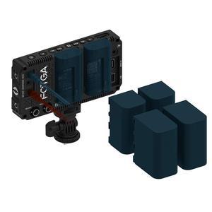 """Image 4 - Fotga dp500iiis a50 5 """"fhd vídeo on camera monitor de campo tela sensível ao toque 1920x1080 700cd m2 hdmi 4 k saída de entrada para f970 a7 gh5"""