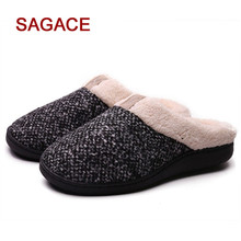 59e394ea5a5 Women s Cozy Memory Foam Slippers Fuzzy Wool-Like Plush Fleece Lined House  Shoes W