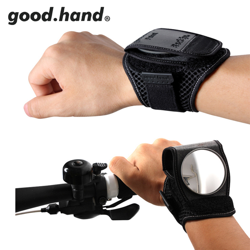 Bicycle rear view mirror Bicycle Handlebar Rear View Glass  Handle Back Mirror Watch wristbands
