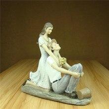 Romantic Countryside Couple Sculpture