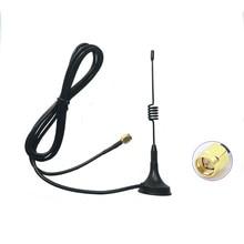 Walkie talkie Mini Antena de vehículo 433MHZ para vx6R vx5R antena 400 470MHZ radios de dos vías