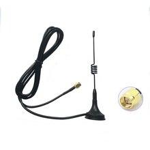 Walkie talkie Mini Voertuig Antenne 433MHZ voor vx6R vx5R antenne 400 470MHZ twee manier radio