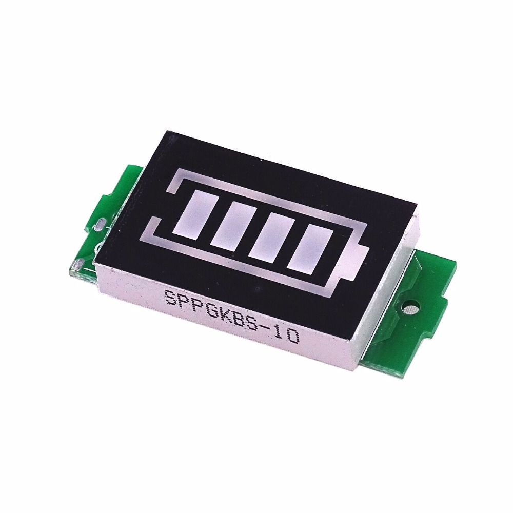 1S 2S 3S 4S Series Lithium Battery Capacity Blue Indicator Module Display Electric Vehicle Battery Power Tester Li-po Li-ion