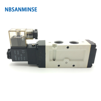 VF310 G1/8 1/4 3/8 Solenoid Valve Pneumatic Valve Air Control Valve Single Coil Double Coil Low Pressure NBSANMINSE excavator solenoid coil 6d102 for 20y 60 32120
