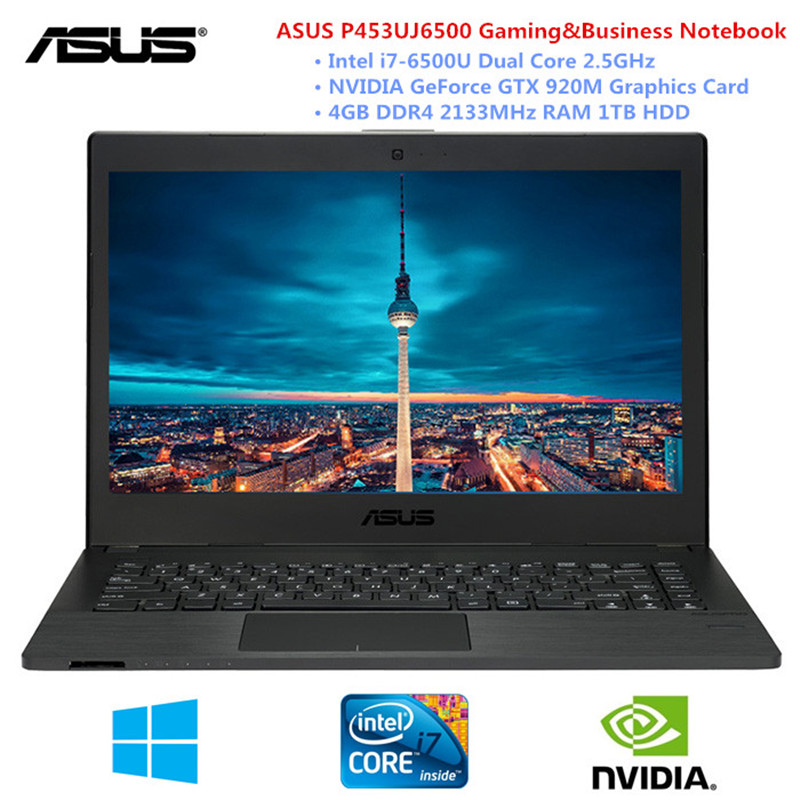 ASUS 14 Inch Gaming / Business Laptop Windows 10 Intel