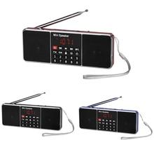 Di Động Đài FM Loa Nghe Nhạc LCD Màn Hình Loa Di Động Đài FM Loa Nghe Nhạc Thẻ Nhớ TF