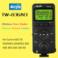 Meyin TW-836 N3 Wireless Timer Remote Shutter Release Control for Canon 10D 20D 5D Mark III 6D 7D Mark II 40D 30D Camera Control