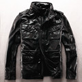 Армия пальто из натуральной кожи одежда M65 верхняя одежда корова кожаная куртка мужской плюс размер плюс большой размер кожа rider jacket