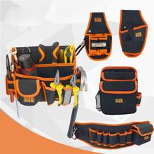 Torba na narzędzia etui na narzędzia Oxford tkaniny torebka wielofunkcyjne narzędzie zestaw mały elektryk narzędzia naprawa pogrubienie zestaw narzędzi plecak etui na narzędzia tanie tanio tuosen PE cotton orange