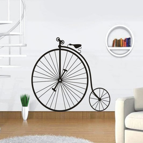 Popular big wheel bicycles buy cheap big wheel bicycles for Bicycle wheel wall art